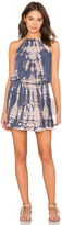Michael Stars Naomi Wash Front To Back Halter Dress