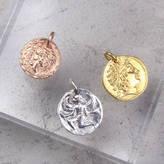 Black Pearl Roman Coin Pendant