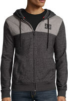 DC Co. Squadron Long-Sleeve Front-Zip Hoodie