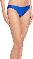 Luxe by Lisa Vogel Tab-Side Premier Bikini Swim Bottom, Cobalt