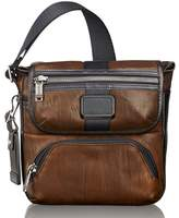 Tumi Alpha Bravo - Barton Leather Crossbody Bag