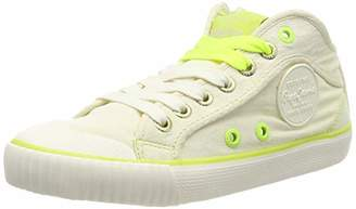 Pepe Jeans Women's Industry NEON Trainers, (803OFF White 803)