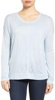 Caslon Soft Jersey Sweatshirt (Petite)