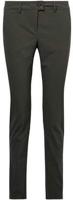 Tomas Maier Stretch-cotton Poplin Skinny Pants