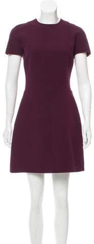 Victoria Beckham Wool & Silk-Blend Dress