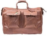 Will Leather Goods Men's 'Traveler' Duffel Bag - Brown