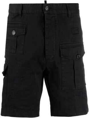 DSQUARED2 Cotton-Blend Cargo Shorts