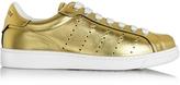 DSQUARED2 Santa Monica Gold Leather Sneaker
