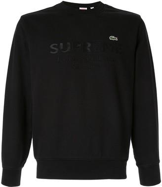 Lacoste Supreme supreme x sweatshirt