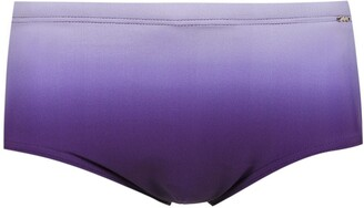 AMIR SLAMA 'Tie Dye' swimming trunk