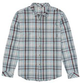 Billabong Boy's Coastline Plaid Flannel Shirt