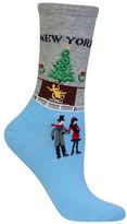 Hot Sox New York Christmas Socks