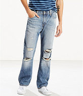 Levi's s 527 Slim Bootcut Distressed Jeans