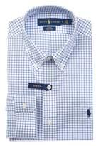 Ralph Lauren Men's Light Blue/white Cotton Shirt.