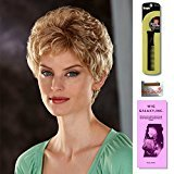 Pamela by Henry Margu, Wig Galaxy Hair Loss Booklet & Magic Wig Styling Comb/Metal Pick Combo (Bundle - 3 Items), Color Chosen: 33/27R