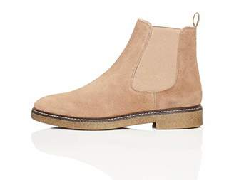 find. Chunky Gumsole Chelsea Boots, Grey Taupe)