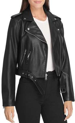 Levi's Belted Faux Leather Moto Jacket