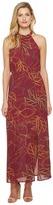 Brigitte Bailey Karissa Sleeveless Printed Maxi Women's Dress