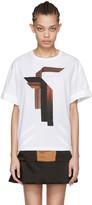 Neil Barrett White Sanfor T-shirt