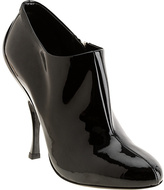 Patent Ankle Bootie