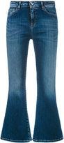 Twin-Set cropped flared jeans - women - Cotton/Elastodiene/Polyester - 26