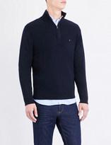 Tommy Hilfiger Brand-logo cotton jumper