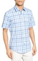 BOSS Men's Lukas Regular Fit Plaid Sport Shirt