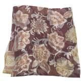 Giorgio Armani 100% Authentic Large Burgundy Silk Scarf