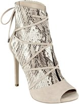 GUESS Women's Ayana Open-Toe Booties