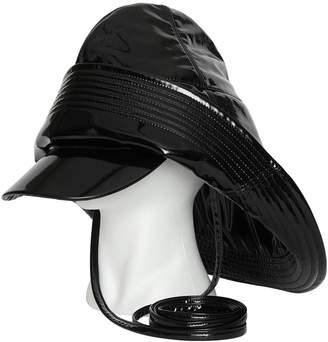 Burberry Logo Print Rain Hat