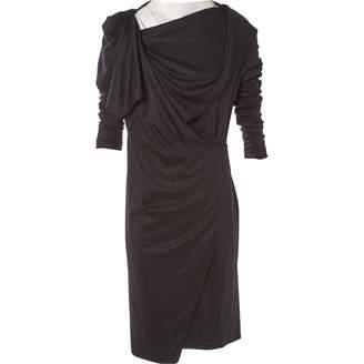Maison Margiela \N Black Wool Dresses