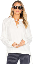 Rag & Bone Bennett Blouse in White. - size XS (also in )