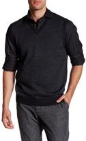 Toscano Diagonal Twill Sweater Vest