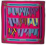 Hermes Sangles Cashmere Silk Shawl