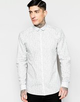 Minimum Shirt With Floral Print In Regular Fit