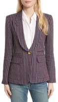 Smythe Women's Stripe Cotton Blazer