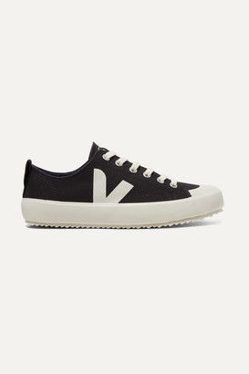 Veja + Net Sustain Nova Organic Cotton-canvas Sneakers - Black
