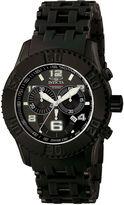 Invicta Sea Spider Mens Black Resin Strap Chronograph Sport Watch 6713