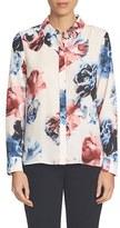 CeCe Women's Floral Print Blouse