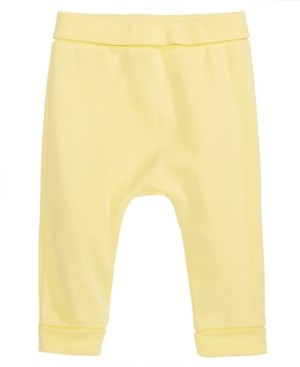 First Impressions Baby Boys Cotton Yoga Pants, Created for Macy's