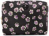 Brigitte Printed Large Cosmetic Case