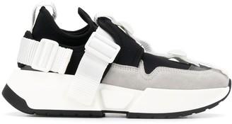 MM6 MAISON MARGIELA Low Buckle Fastened Sneakers
