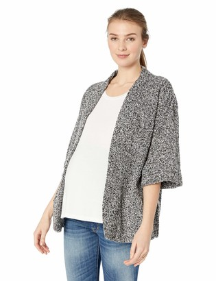 Motherhood Maternity Women's Maternity Oversized Kimono Hacci Bed Jacket