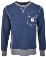 Franklin & Marshall Franklin Marshall Crew Neck Sweatshirt Blue