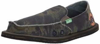 Sanuk Kids' Vagabond Boys Grateful Dead Loafer