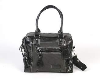 Little Company Black Label C02. Nappy Bag, Graphite/Black