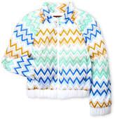 Missoni Girls 4-6x) Zigzag Printed Bomber Jacket