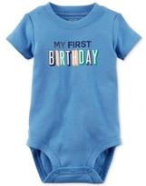 Carter's My First Birthday Bodysuit, Baby Boys (0-24 months)