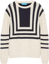 MiH Jeans Intarsia merino wool sweater