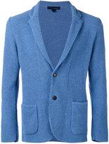 Lardini textured two-button blazer - men - Cotton/Polyamide - M